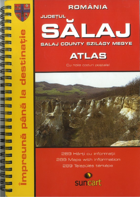 Atlas of Sălaj County - hungarian cover (Hiszi - Suncart)