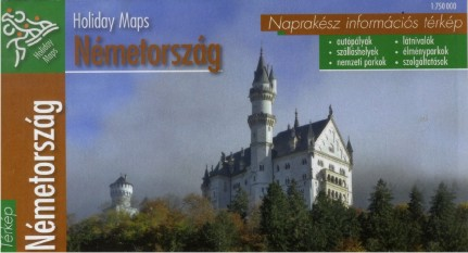 Germany (Holiday Maps - 1:750.000)