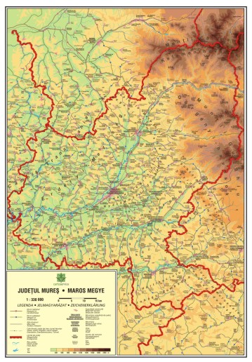 Mapmag Ro Harta Judeţului Mures Magazinul Online Al Produselor