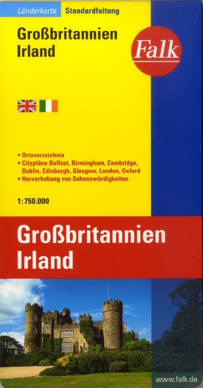 Great Britain and Ireland (Falk - 1:750.000)