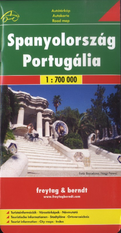 Spain and Portugal (Freytag & Berndt - 1:700.000)