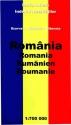 Romania - Road map (Szarvas, Kárpátia, Hibernia - 1:700.000)
