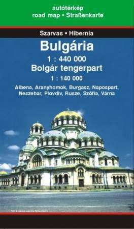 Mapmag Ro Harta Turistică Si Rutieră A Bulgariei Si A Litoralului