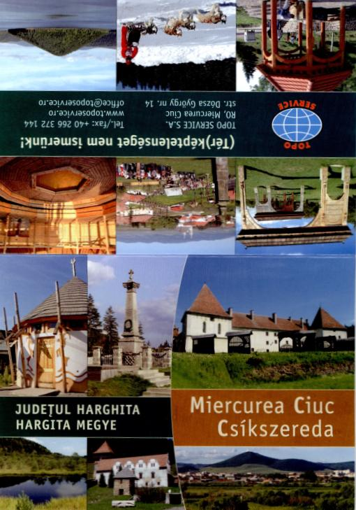 Miercurea Ciuc - with index of street names