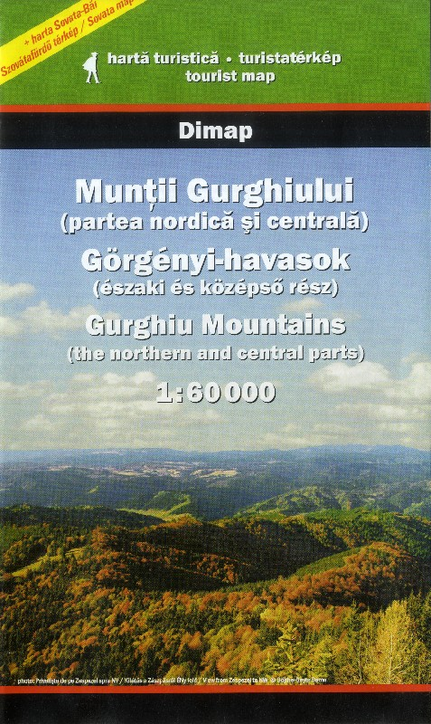 Gurghiu Mountains - Nothern and Middle Regions (Dimap -1:60.000)