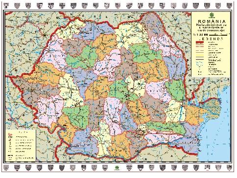 Mapmag Ro Hărţi Murale Hărţi Scolare Magazinul Online Al
