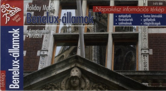 Benelux-államok (Holiday Maps - 1:475.000)