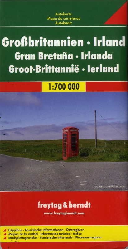 Great Britain and Ireland (Freytag & Berndt - 1:700.000)