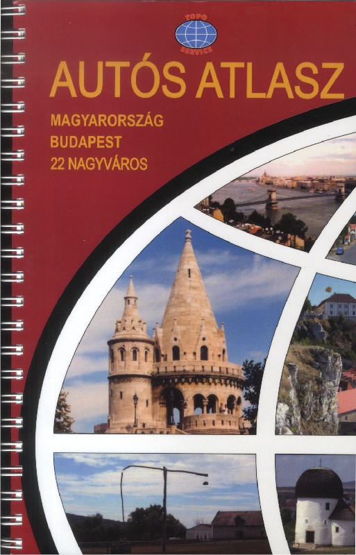 Road atlas of Hungary and Budapest